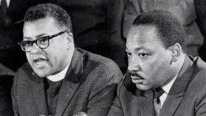 James Lawson and Martin Luther King at Nashville